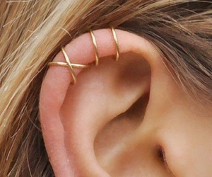 piercing, ear, and accessories image