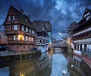 france, city, and Strasbourg image