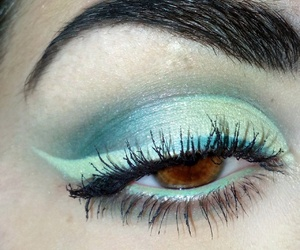 eye, green, and inverse image