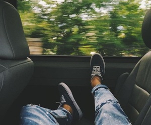 car, travel, and vans image