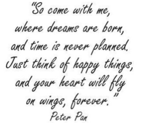 quotes, Dream, and peter pan image