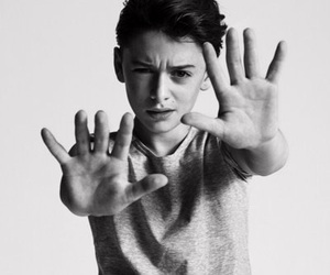 stranger things, netflix, and noah schnapp image