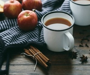 apple cider, autumn, and apples image
