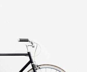 aesthetic, bike, and white image