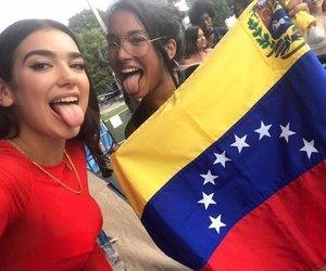 venezuela, dua lipa, and concert image