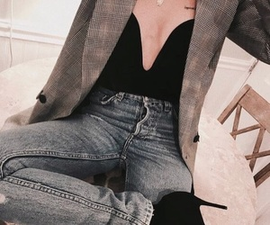 accesories, jeans, and moda image