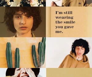 stranger things, finn wolfhard, and yellow image