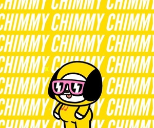 bts, wallpaper, and chimmy image