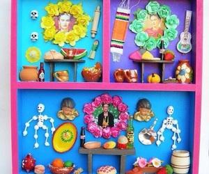 dia de muertos, miniatura, and ofrenda image