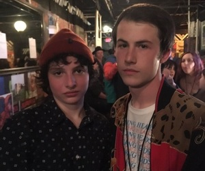 13 reasons why, stranger things, and finn wolfhard image