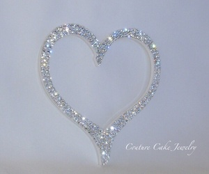 diamond, heart, and sparkle image