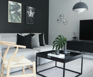 home, black, and grey image