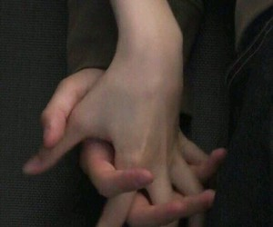 boy, hands, and couple image