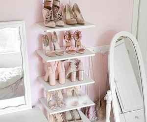 collection, pink, and shoes image