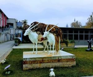 art, beautiful, and statue image