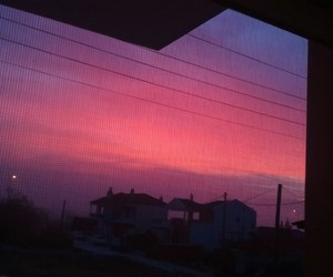 cloudy, pink, and pretty image