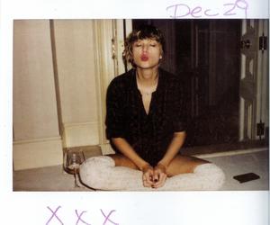 kiss, magazine, and polaroid image