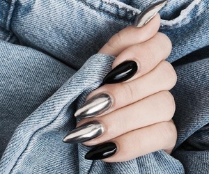 fashion, nails, and nailart image