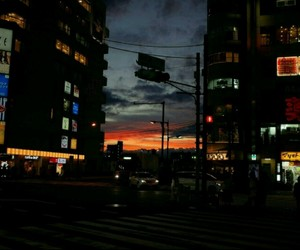 aesthetic, city, and Darkness image