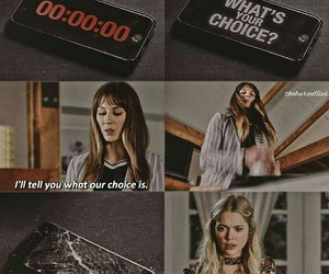 pll, spencer hastings, and hanna marin image