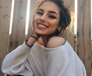 girl, smile, and pretty image