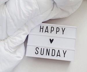 Sunday, happy, and heart image