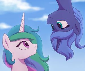 MLP, my little pony, and luna image