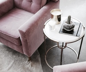 interior, pink, and decor image