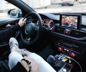 audi, car, and classy image