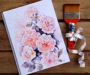 beautiful, flowers, and art image