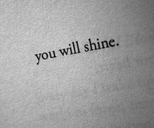 quotes, shine, and book image