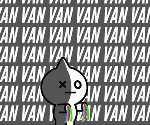 van, bts, and bt21 image
