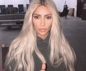 kim kardashian, hair, and makeup image