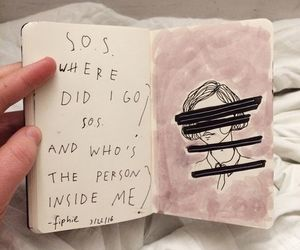 book, quotes, and art image