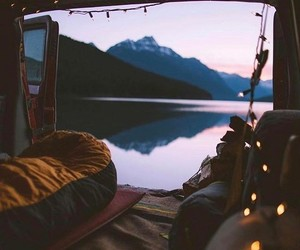 travel, cozy, and lights image