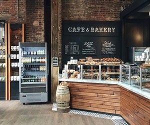 coffee, bakery, and cafe image