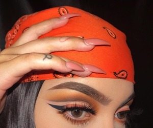 beauty, eyebrows, and nails image