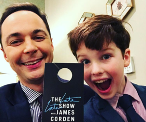 the big bang theory and young sheldon image