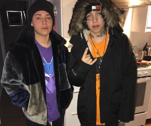 ethan cutkosky, lil xan, and shameless image