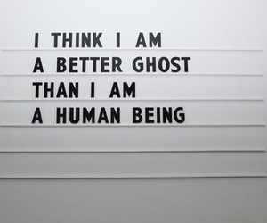 ghost, quotes, and human image