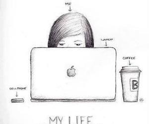 life, coffee, and me image