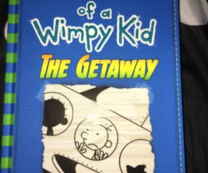 diary of a wimpy kid and the getaway image