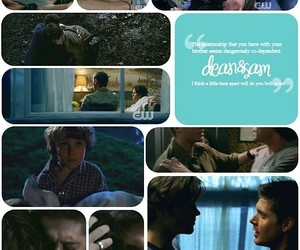brothers, dean winchester, and Relationship image