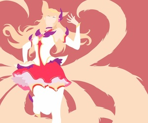 ahri, league of legends, and star guardian image