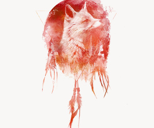 aesthetic, animals, and watercolor image