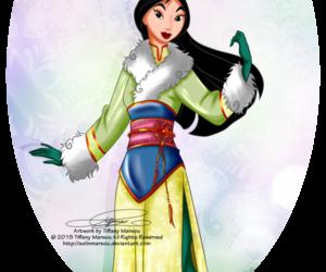 disney, princess, and winter image
