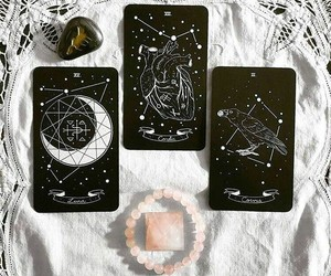 witch, goth, and tarot image