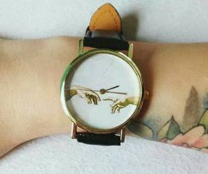 watch, art, and clock image