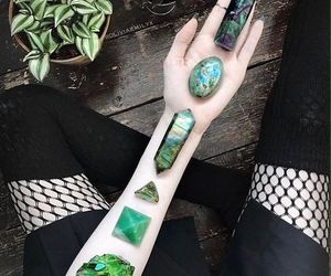 beautiful, gemstones, and green image