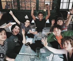 it, finn wolfhard, and chosen jacobs image